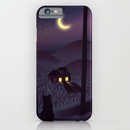 Silent Watcher iPhone & iPod Case