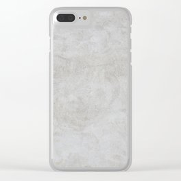 Stone Texture Surface 28 Clear iPhone Case