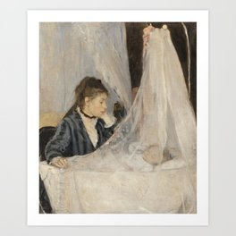 Berthe Morisot - Le Berceau Art Print