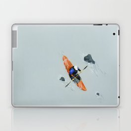 Solitude- Kayaker Laptop & iPad Skin