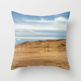 View from the Westly Rest Area Throw Pillow