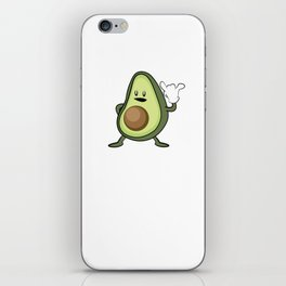 Rock Out with Your Guac Out – Funny Vegan Gift iPhone Skin