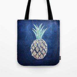 Chalk Pineapple Tote Bag