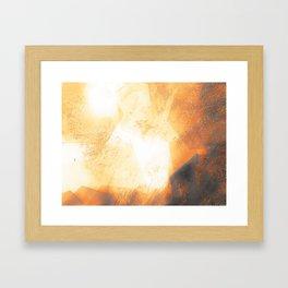 She is the sun Framed Art Print