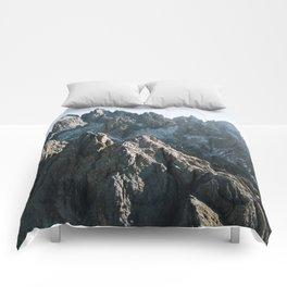 Dolomites Mountains - Landscape Photography Comforters