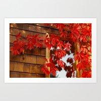 Red Vines Art Print