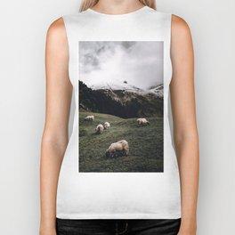 Sheep II / Bavarian Alps Biker Tank