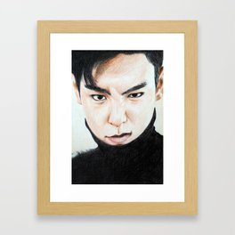 T.O.P /4 Framed Art Print