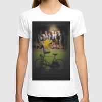 tour de france T-shirts featuring tour de france by Emanuele Reina