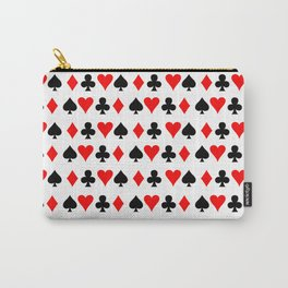 Card Suits 01 Carry-All Pouch