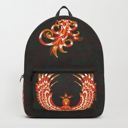Mythical Phoenix Bird Backpack