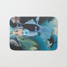 Pisces- The Zodiac Wildlife Series Bath Mat