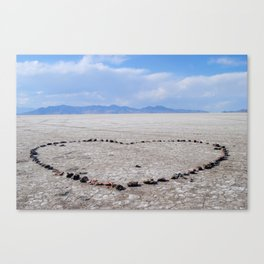 Love in the Flatlands Canvas Print