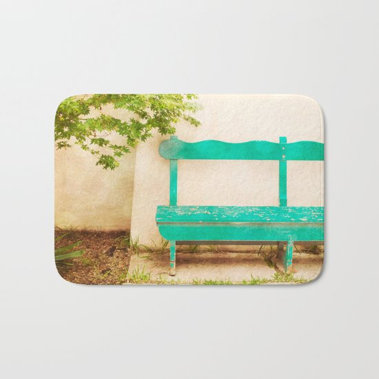 The Green Bench Bath Mat