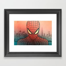 The Amazing Spider-Man Framed Art Print