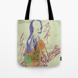 Badly Drawn Ballet (Pt. 5) on Strathmore Labeled Paper Tote Bag