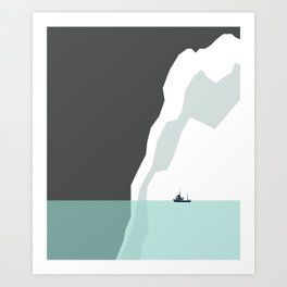 Feeling Small - Iceberg Art Print