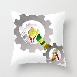 BioShock Infinite Assassin's Creed mashup Throw Pillow