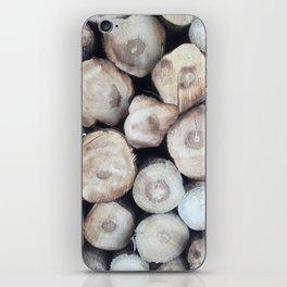 natural wood iPhone Skin