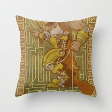 Ionic Asterion Throw Pillow