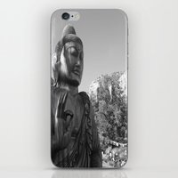 buddah iPhone & iPod Skins featuring Buddah by Nicolette Hand