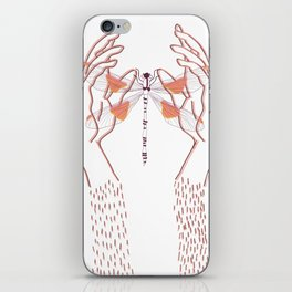 Libelula iPhone Skin