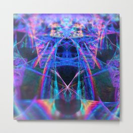 Multi-Dimensional Traveler Metal Print