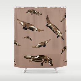 Platypus. Ornithorhynchus anatinus Shower Curtain