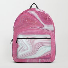Marble Pink Backpack