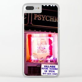 psychic Clear iPhone Case