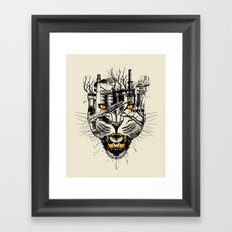Fierce Framed Art Print