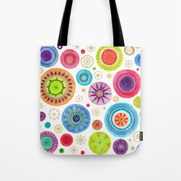 festive flowers Tote Bag