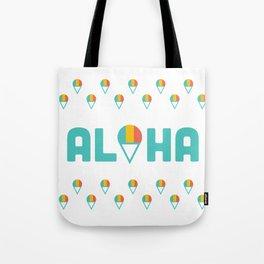 Aloha Shave Ice Tote Bag