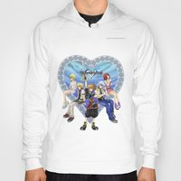 kingdom hearts Hoodies featuring Kingdom Hearts by clayscence