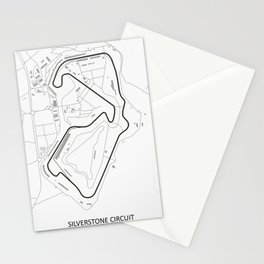 Silverstone Circuit Stationery Cards