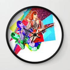 Bowie - Hot Tramp Wall Clock