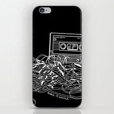 Noir Relax & Unwind iPhone & iPod Skin