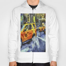 New York Taxis Art Hoody