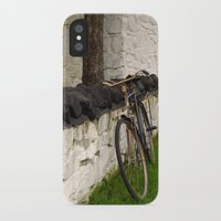 cycle iPhone & iPod Cases featuring Cycle by Sarah Paterson