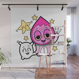 Berry girl : Good night! Wall Mural