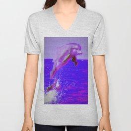 Dolphin Unisex V-Neck