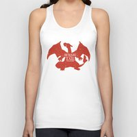 charizard Tank Tops featuring House Charizard by Alecxps