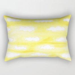 #45. FEIFEI - Clouds Rectangular Pillow
