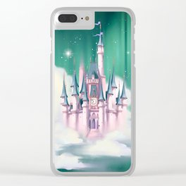 Star Castle In The Clouds Clear iPhone Case