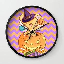 Candy captor kerochan Wall Clock