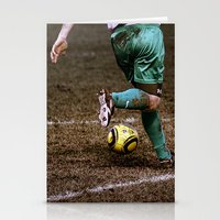 football Stationery Cards featuring Football by Goncalo