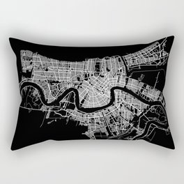 New Orleans map Rectangular Pillow