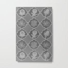 Grey Proteas Metal Print