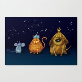 We Three Kings Canvas Print