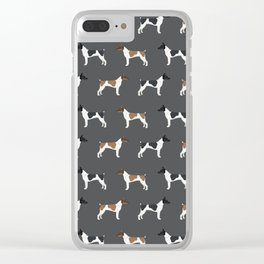Rat Terrier dog breed decor gifts pure breed dogs Clear iPhone Case